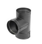 Stove Pipe Tee With Cover DuraVent